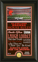 Cleveland Browns House Rules Supreme Bronze Coin Photo Mint