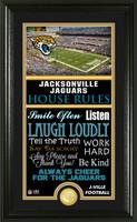 Jacksonville Jaguars House Rules Supreme Bronze Coin Photo Mint