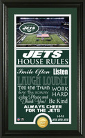 New York Jets House Rules Supreme Bronze Coin Photo Mint