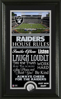 Raiders House Rules Supreme Minted Coin Photo Mint