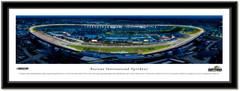Daytona International Speedway Night Race Framed Panoramic Picture