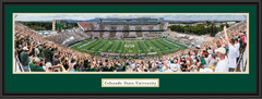 Colorado State Rams Football Framed Panoramic Picture