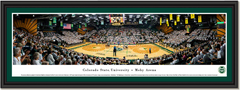 Colorado State Rams Volleyball Framed Panoramic Picture