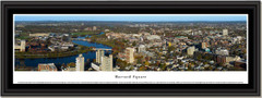 Harvard Square Skyline Framed Panoramic Picture