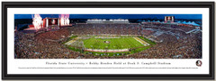 Florida State Seminoles Football Doak Campbell Stadium Framed Panorama