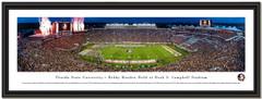 Florida State Seminoles Football Doak Campbell Stadium Framed Panorama