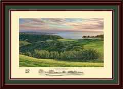 Torrey Pines 3rd Hole Framed Art Print