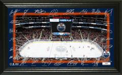 Edmonton Oilers 2018 Signature Rink