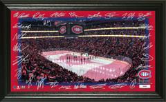 Montreal Canadiens 2018 Signature Rink