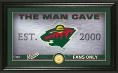 Minnesota Wild Man Cave Panoramic Bronze Coin Photo Mint