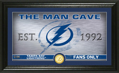 Tampa Bay Lightning Man Cave Panoramic Bronze Coin Photo Mint