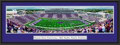 Kansas State Wildcats Football Framed Panorama