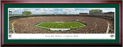 Green Bay Packers Lambeau Field Framed Panoramic