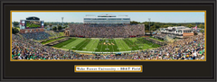 Wake Forest Demon Deacons Football Framed Panoramic