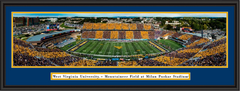 West Virginia University Mountaineer Field at Milan Puskar Stadium Framed Print