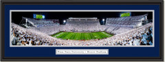 Penn State 2018 White Out Framed Panorama