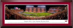 Virginia Tech Football Lane Stadium/Worsham Field Framed Print