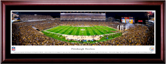Pittsburgh Steelers Heinz Field Framed Night Game Picture Single Matting and Cherry Frame