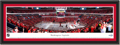 2018 Banner Raising Ceremony Washington Capitals Framed Print