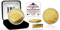 Boston Red Sox 2018 World Series Champions Gold Mint Coin