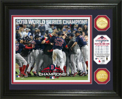 "Boston Red Sox 2018 World Series Champions ""Celebration"" Bronze Coin Photo Mint"