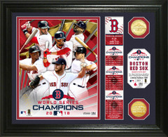"Boston Red Sox 2018 World Series Champions ""Banner"" Bronze Coin Photo Mint"