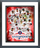 2018 World Series Champions Boston Red Sox Framed Photo Collage