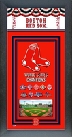 Boston Red Sox 2018 World Series Framed Championship Banner