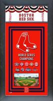 Boston Red Sox 2018 World Series Framed Championship Banner