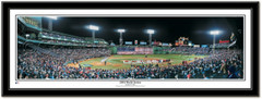 2004 World Series Boston Red Sox Framed Panoramic Print  - Black Frame