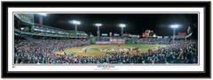 2004 World Series Boston Red Sox Framed Panoramic Print  - Black Frame