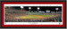 2018 World Series First Pitch Framed Panoramic -- SIGNATURE EDITION -- Single Matting and Black Frame