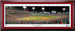 2018 World Series First Pitch Framed Panoramic -- SIGNATURE EDITION -- Double Matting and Cherry Frame