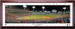 2018 World Series First Pitch Framed Panoramic -- SIGNATURE EDITION -- No Matting and Cherry Frame