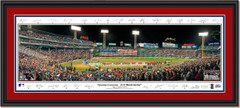 2018 World Series Game One Opening Ceremony Framed Print -- SIGNATURE EDITION -- Double Matting Black Frame