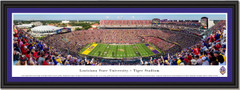 LSU Football Tiger Stadium Framed Panoramic