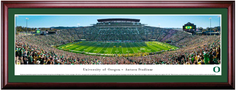 Oregon Ducks Football Autzen Stadium Framed Print