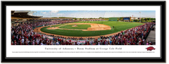 Arkansas Razorbacks Baseball Framed Panoramic