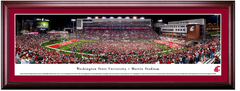Washington State Cougars Football Martin Stadium Framed Print