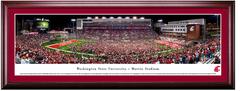 Washington State Cougars Football Martin Stadium Framed Print