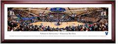 Villanova Wildcats Basketball Finneran Pavilion Framed Panoramic