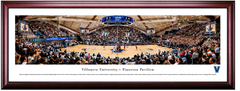 Villanova Wildcats Basketball Finneran Pavilion Framed Panoramic