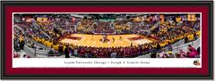 Loyola Ramblers Basketball Joseph J. Gentile Arena Framed Print