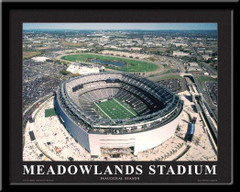New York Giants New Meadowlands Aerial Stadium Framed Poster