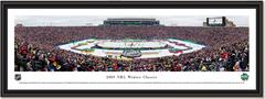 2019 NHL Winter Classic - Boston Bruins vs Chicago Blackhawks - Framed Print
