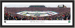 2019 NHL Winter Classic - Boston Bruins vs Chicago Blackhawks - Framed Print