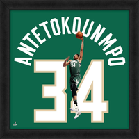 Giannis Antetokounmpo Uniform Framed Photo