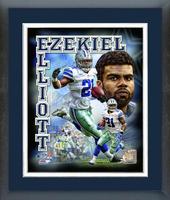 Ezekiel Elliott Composite Framed Print