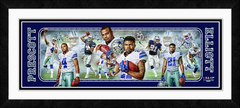 Dak Prescott and Ezekiel Elliott Photoramic Framed Photo Collage