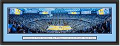 North Carolina Tar Heels Basketball Dean Smith Center Framed Panoramic Poster